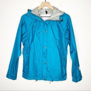 The North Face Blue Lightweight Gore Tex Jacket